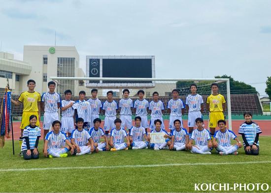 令和3年度熊本県高等学校総合体育大会サッカー競技(インターハイ)優勝