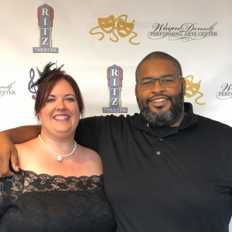 Christina and Matthew Simmons at WDPAC
