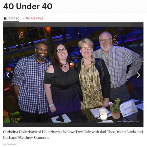 Celebrating 40 under 40
