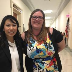 Christina Hollerbach and Congresswoman Stephanie Murphy