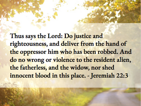 A Prayer for Social And Racial Justice