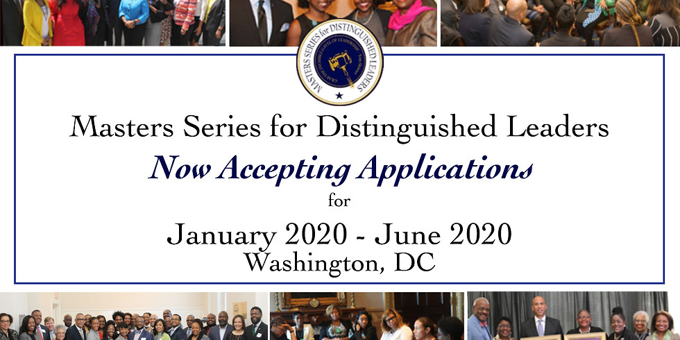 2020 Masters Series for Distinguished Leaders Program