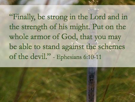 A Prayer to Put On the Full Armor of God