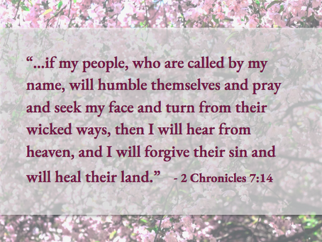 A Prayer for Healing Our Nation