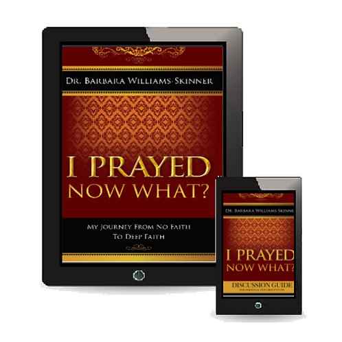 EBOOK BUNDLE - I Prayed Now What Book and Discussion Guide