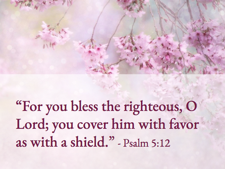 A Prayer For Divine Favor