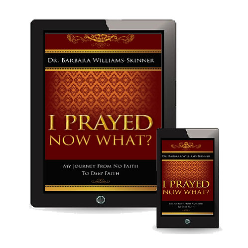 EBook - I Prayed, Now What?