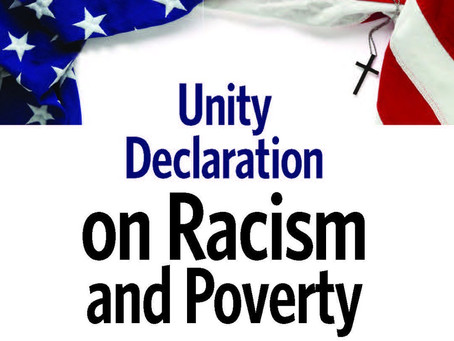 Unity Statement on Racism and Poverty
