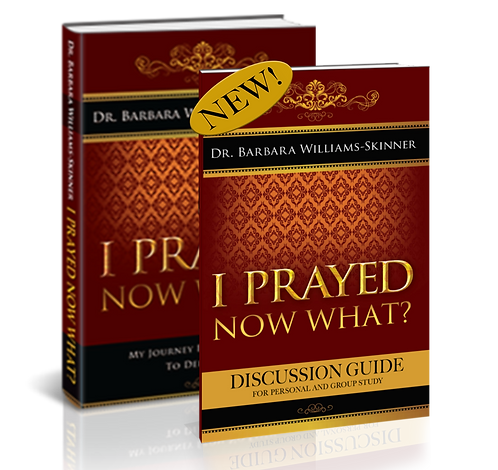 Bundle: I Prayed Now What. Book and Discussion Guide