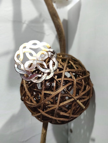 Connect Brooch