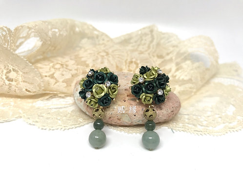 Greeny Earrings