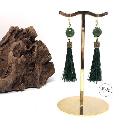 Green Island Earrings