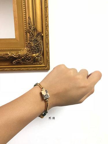 Wood forest bracelet