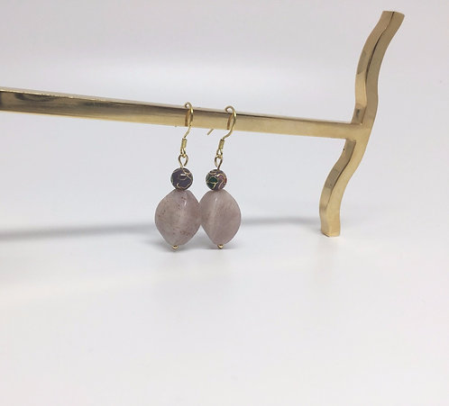 Tender pink earrings