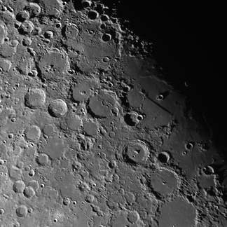 Lunar Straight Wall feature