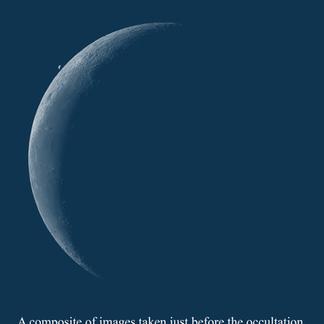 Moon Venus Occultation