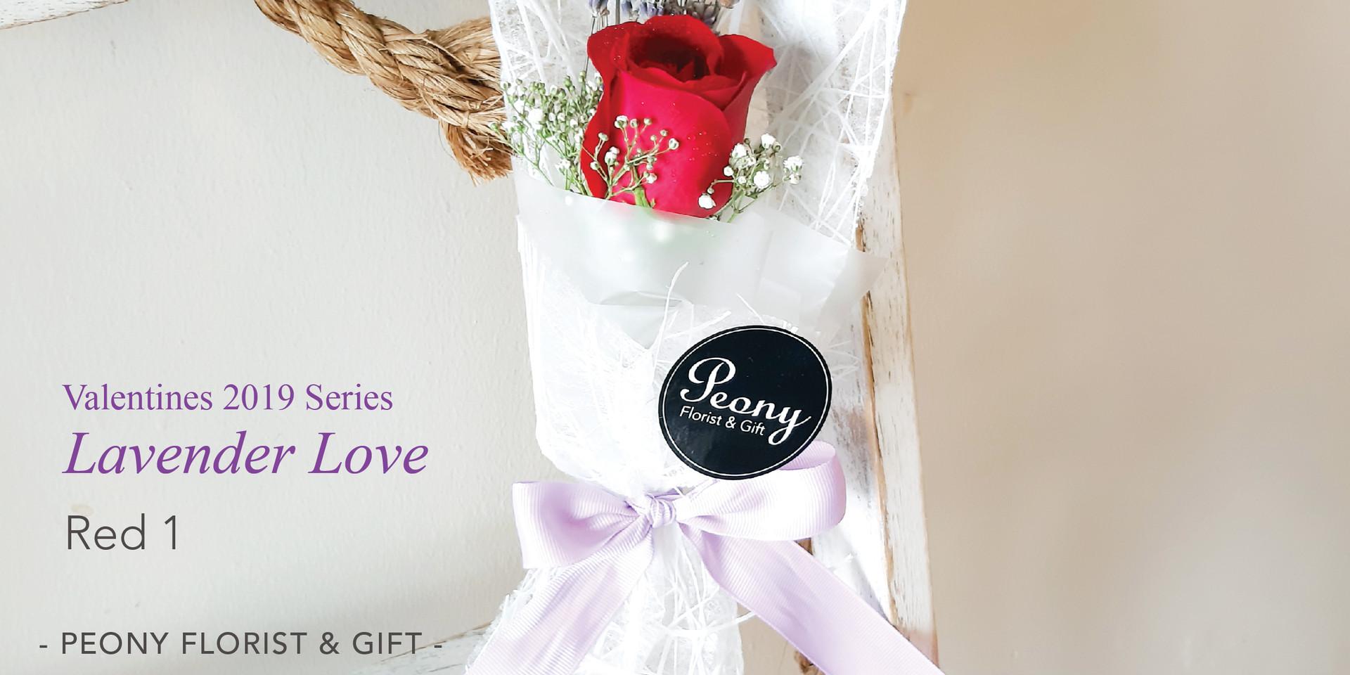 Red 1-Lavender Love 2019