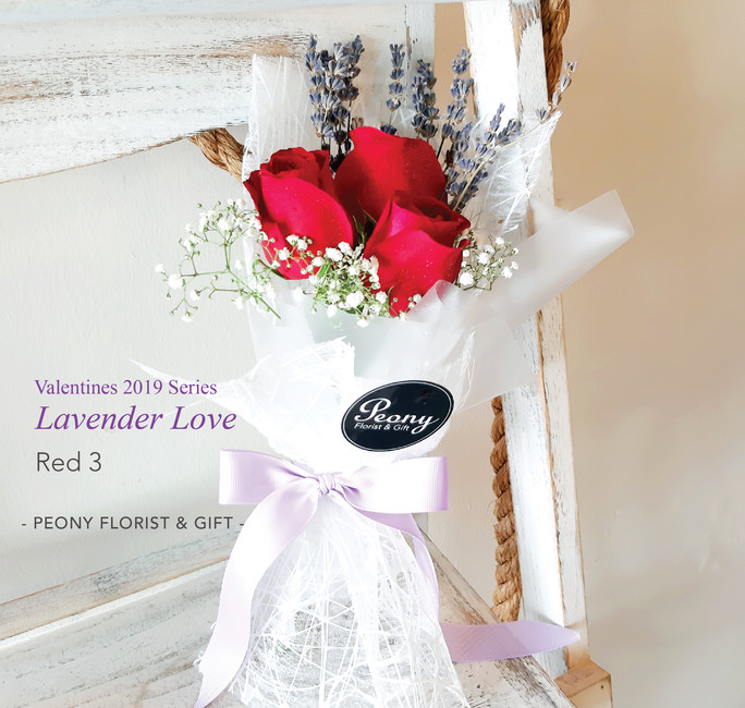 Red 3-Lavender Love 2019