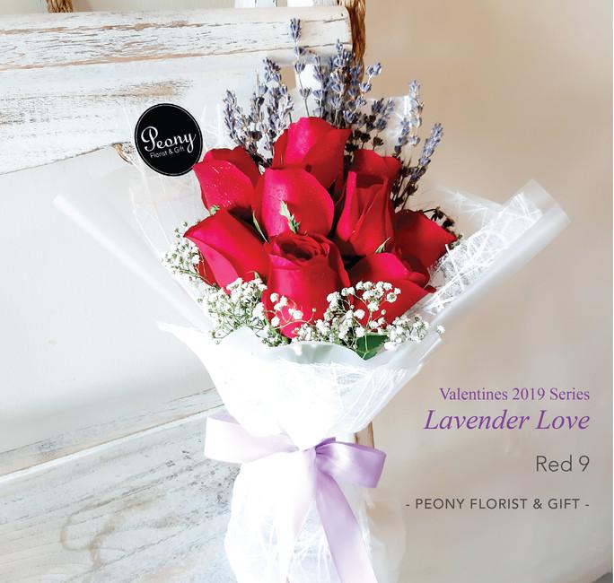 Red 9-Lavender Love 2019