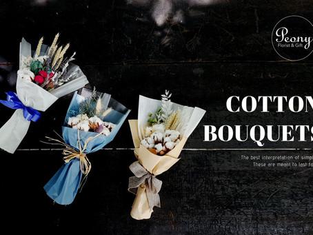 #浪漫来袭 【韩式棉花花束Cotton Bouquet】