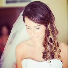 Beautiful bride #hairbyBrandieStokes