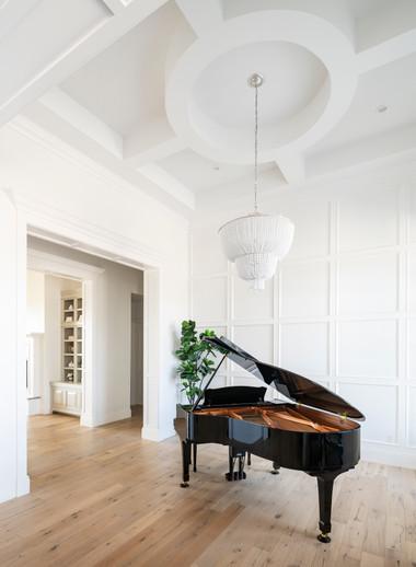 Walnut Court Piano Room