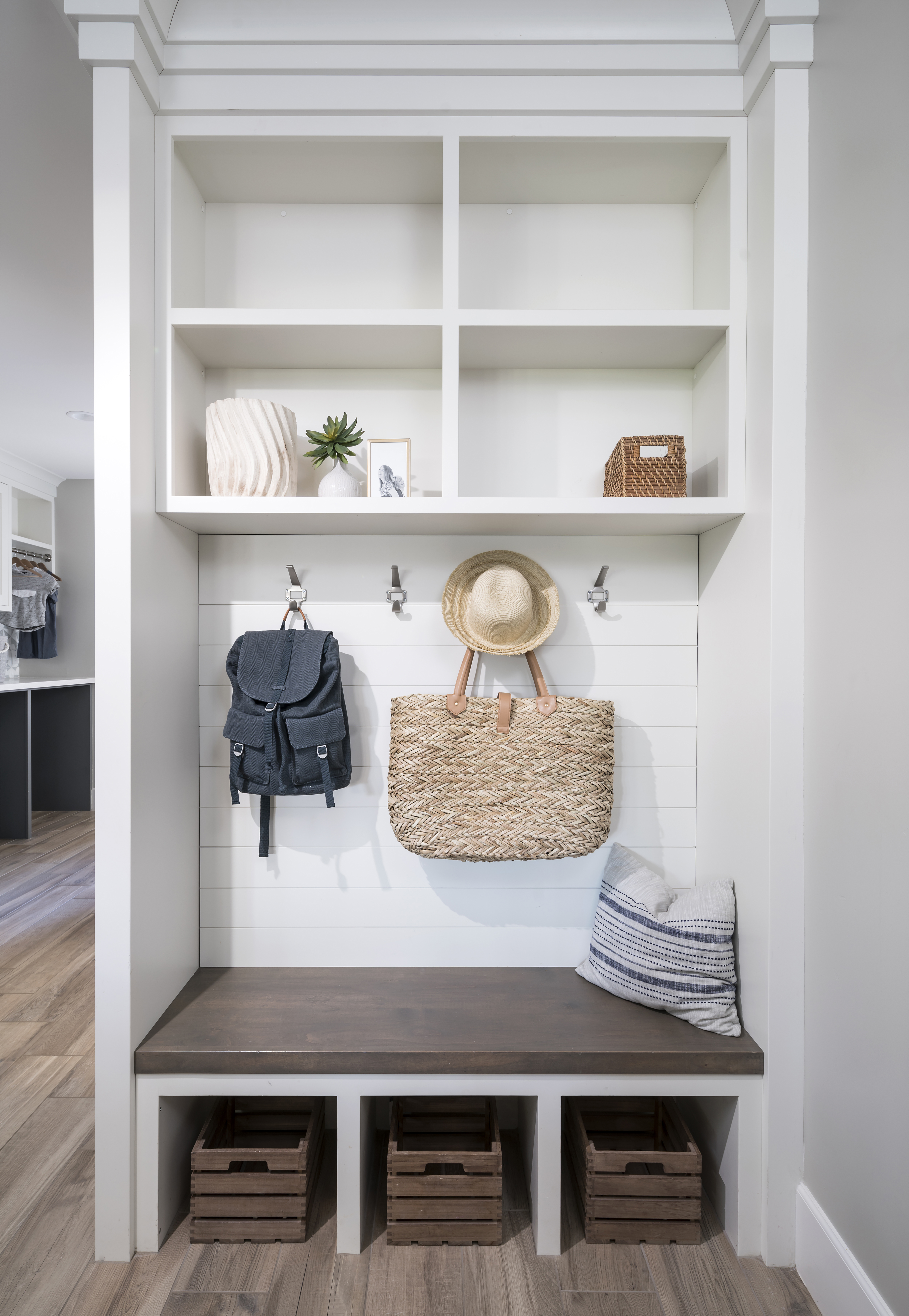 Gilbert Farmhouse Mudroom