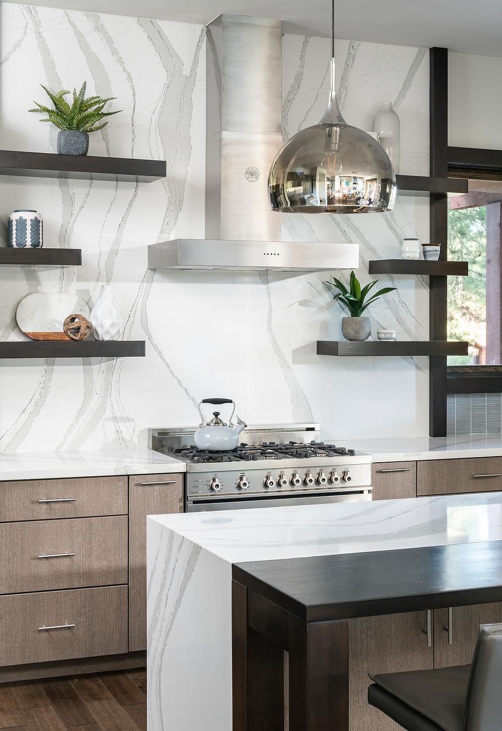 Flagstaff Cabin Kitchen Interior Design