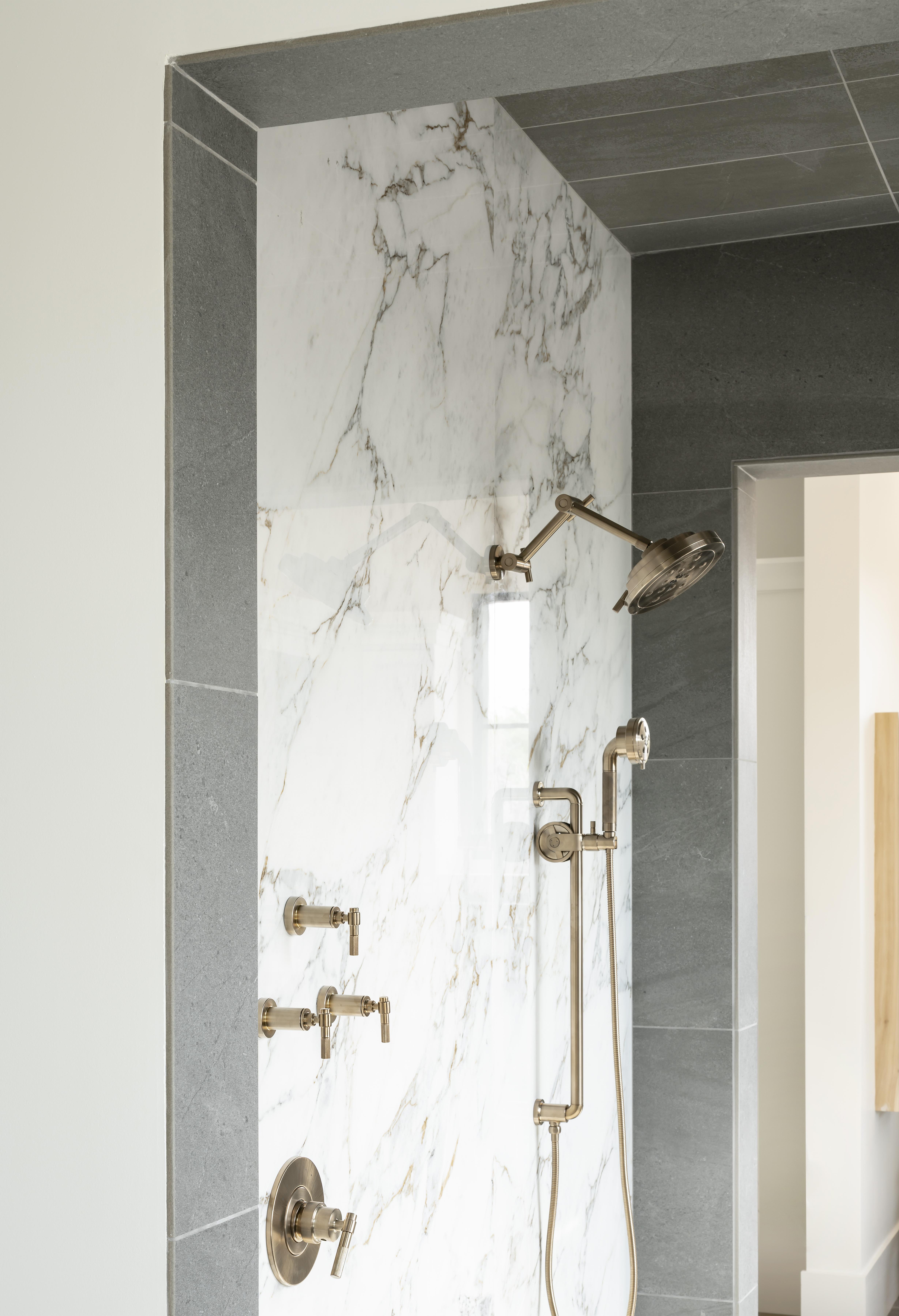Modern Elegance Shower