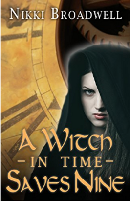 A Witch In Time Saves Nine Book Cover