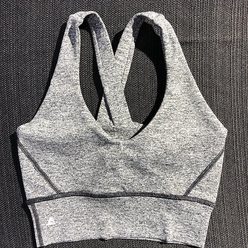 Static Grey Victory bra