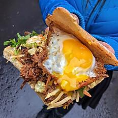 Borneo Pulled Beef Sandwich