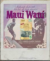 Maui Waui Organic Cannabis Marijuana