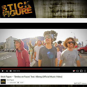 Stick Figure Smiles On Faces Music Video