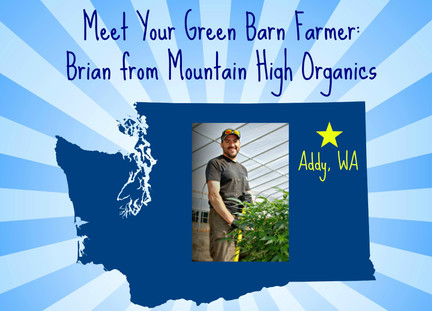 Meet Your Green Barn Farmer: Brian From Mountain High Organics
