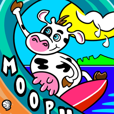 Surf Cow