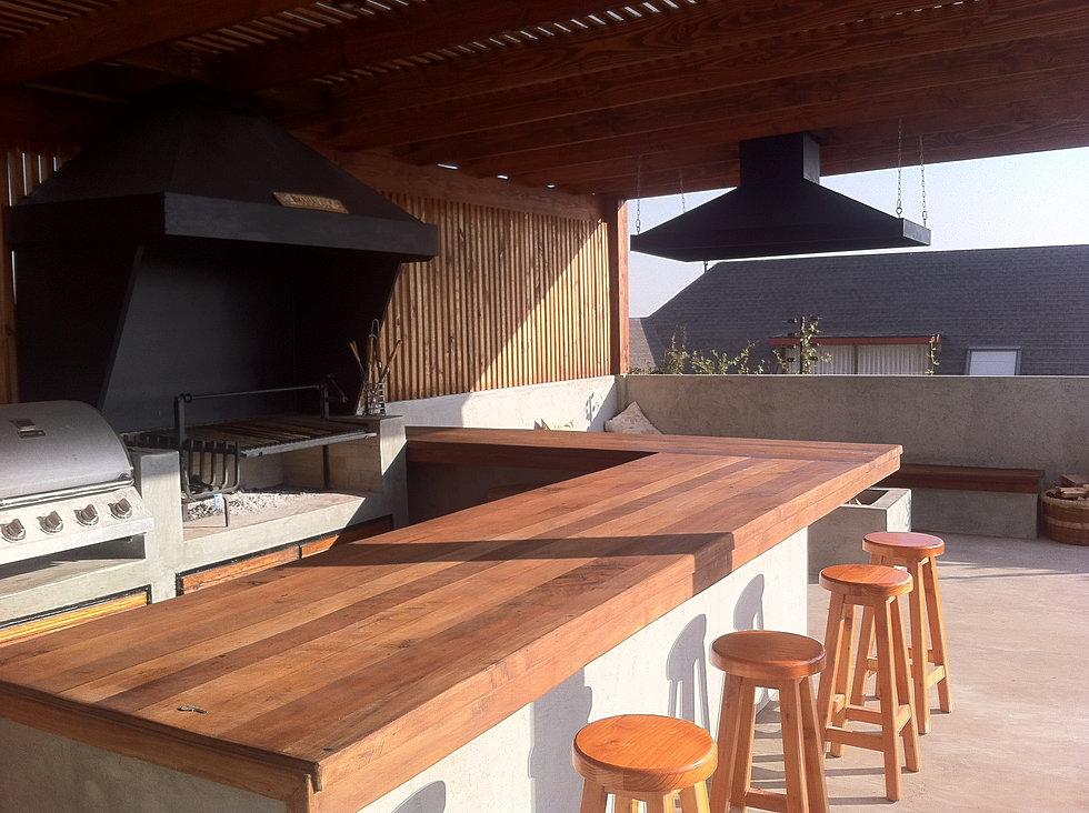 Terrazas y quinchos obraa chile for Modelos de terrazas