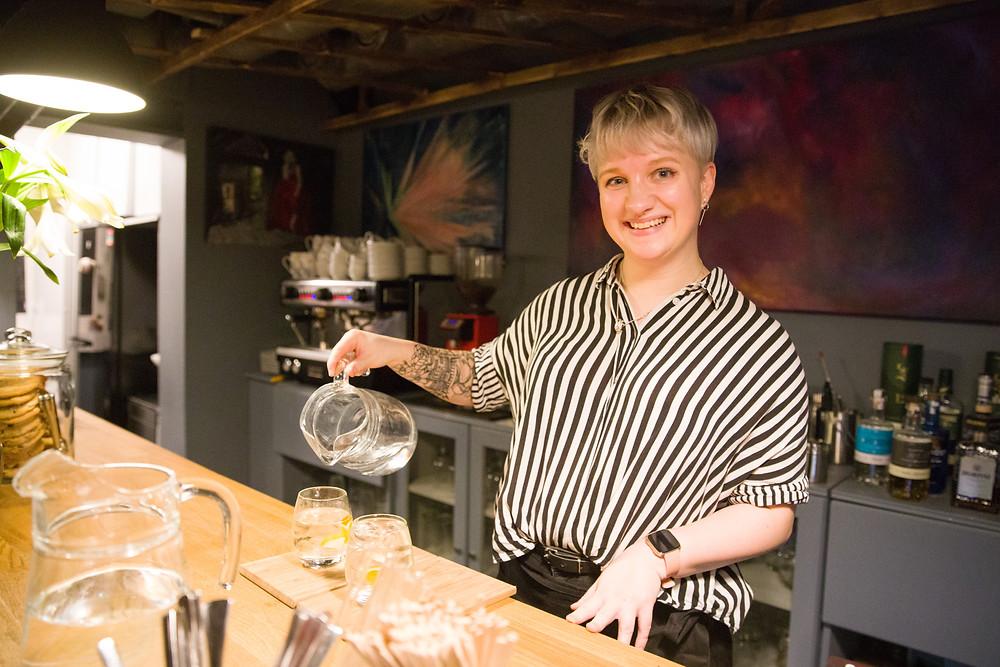 Das Art Café in Tromsö ist ein Lokaltipp in Norwegen