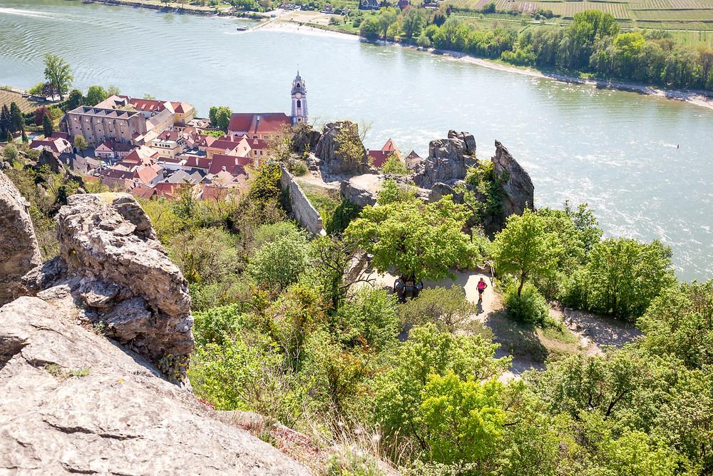Ruine Dürnstein, Ruine, Richard Löwenherz, Blondel, Dürnstein, Wachau, Niederösterreich, Donau, Donautal, Wandern, Ausflug, Wandertipp, Stift Dürnstein