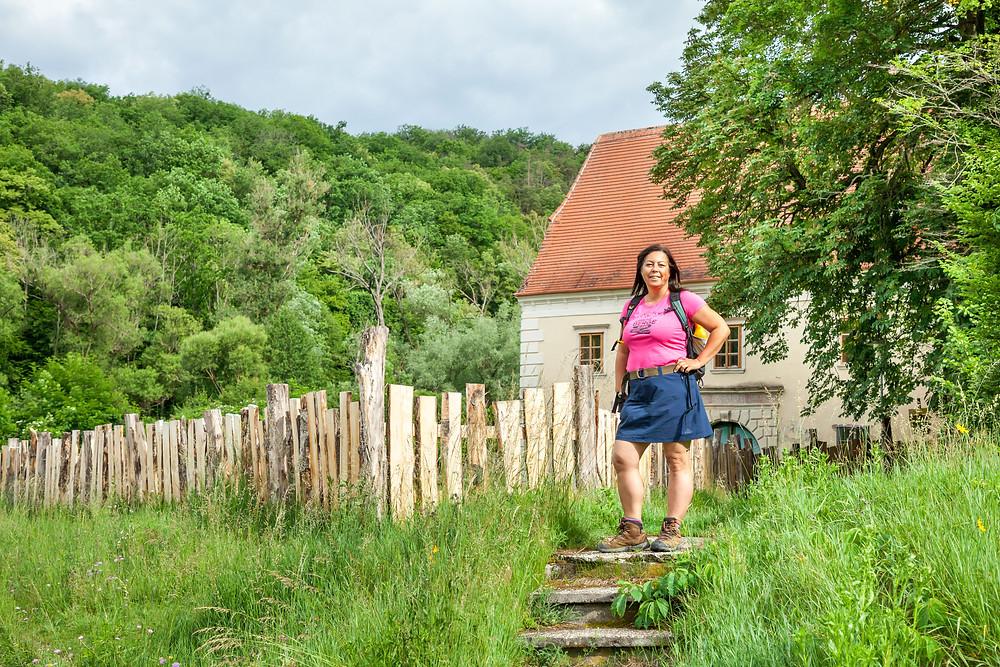 sonja Lechner, die reisereporter, Kamp, Kamptal, Steinegg, Ödes Schloss, Wandern, Wanderung, Ausflug, Waldviertel, Niederösterreich