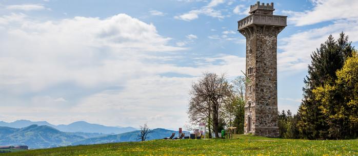 Wandern Mostviertel: Rundwanderung zur Elisabeth-Warte in Niederösterreich