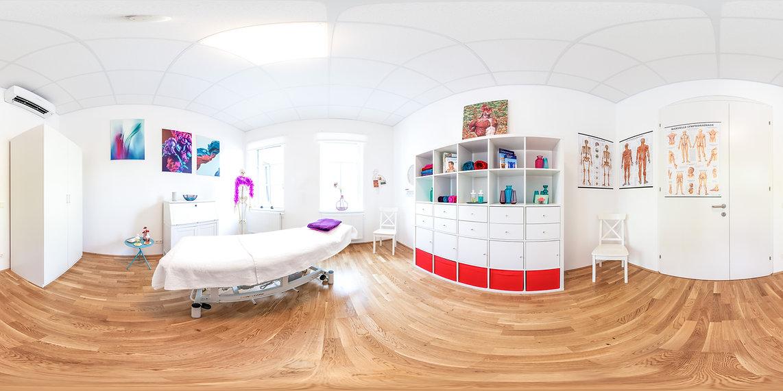 Panorama vom Studio der Masseurin und Therapeutin Kathin Niessl