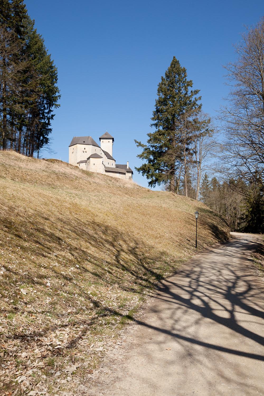 Burg Rapottenstein, Rapottenstein, Kamp, Ritterkamp, Waldviertel, Niederösterreich, Wandern, Burg, Ritterburg, Wehrburg, Wanderung