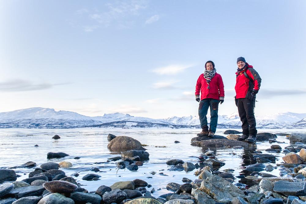 Funktionelle Winterkleidung für die Polarlicht-Fotografie in Tromsö