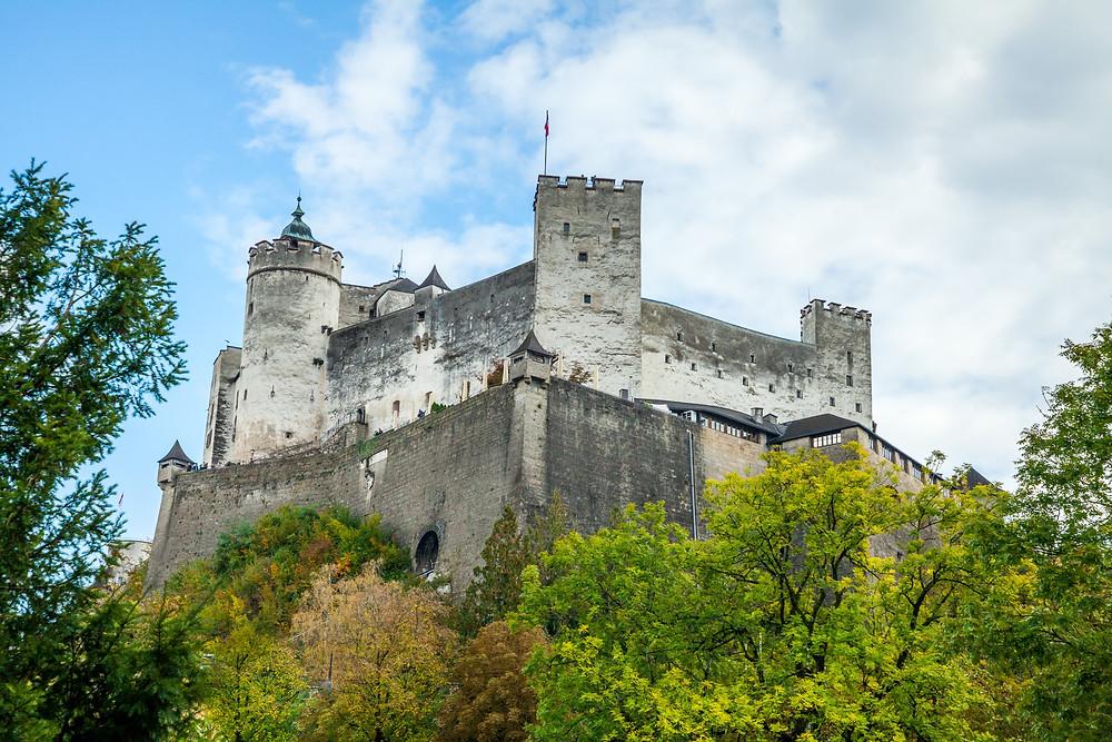 Festung Hohensalzburg, Festung, Burg, Salzburg, Salzburg Altstadt, Mozartstadt, Kurzurlaub, Stadtwandern, Stadtwanderung, Besichtigung, Sightseeing, Kulturrundgang, Sehenswürdigkeiten, Spaziergang,