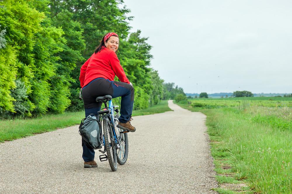Podersdorf, Neusiedler See, Neusiedlersee, Burgenland, Urlaub, Kurzurlaub, Reise, Radurlaub, Radfahren, Radrunde, Radtour, Sonja Lechner, Radfahrerin
