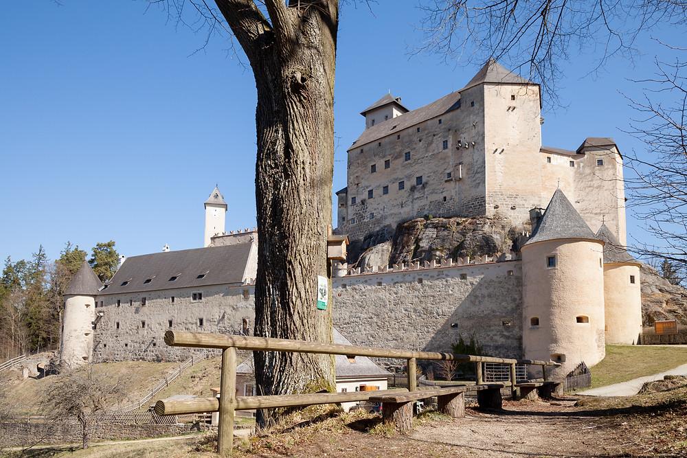 Burg Rappottenstein, Burg, Wehrburg, Ritterburg, Waldviertel, Niederösterreich, Wandern, Wanderung, Kamp, Kamptal