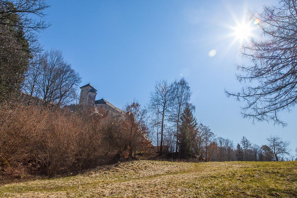 Burg Rappottenstein, Burg, Ritterburg, Waldviertel, Kamptal, Kamp, Wandern, Wanderung, Niederösterreich