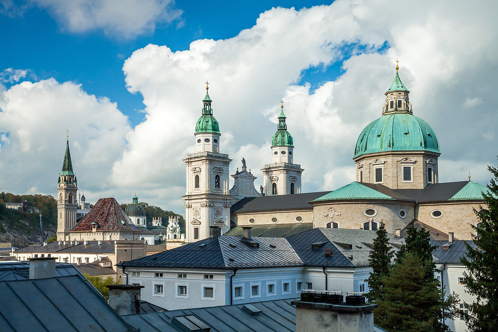 Dom, Salzburger Dom, Salzburg, Salzburg Altstadt, Mozartstadt, Kurzurlaub, Stadtwandern, Stadtwanderung, Besichtigung, Sightseeing, Kulturrundgang, Sehenswürdigkeiten, Spaziergang,