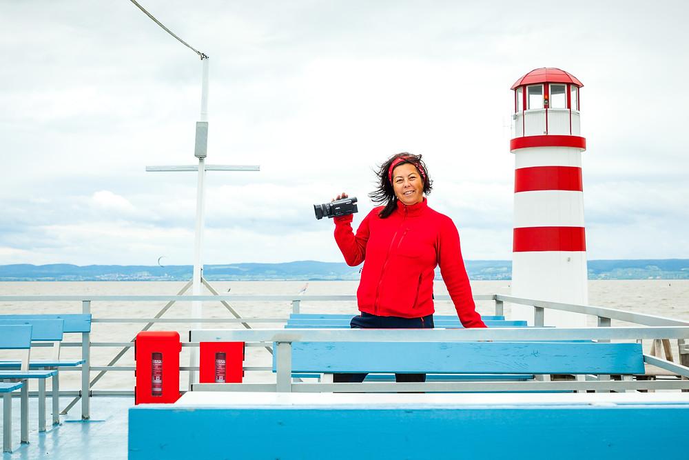 Podersdorf, Neusiedler See, Neusiedlersee, Burgenland, Österreich, Urlaub, Reise, Kurzurlaub, Sonja Lechner, die reisereporter, Touristin, Tourist